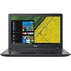 """Acer Aspire e 15 E5-553-T17H Notebook, Display da 15.6"""" HD LED, Processore AMD Quad-Core A10-9600P, RAM da 16 GB DDR4, 1000 GB HDD, Scheda Grafica Integrata AMD Radeon R5, Nero"""