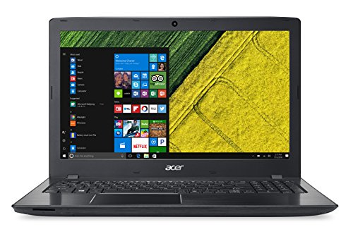 "Acer E5-523G-958X - Ordenador Portátil de 15.6"" HD (AMD Dual-Core A9-9410, 8 GB RAM, 1 TB HDD, AMD R5-M430 2 GB, Windows 10); Negro - Teclado QWERTY Español"