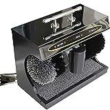 QFFL Pulidor de zapatos Sensor automático Limpieza vertical de zapatos Hogar doble máquina de...