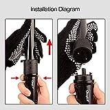 CkeyiN 3-in-1 Multifunction Interchangeable Hair Curlers Kit (Black)