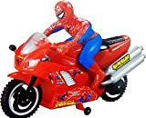 #5: HALO NATION SpiderMan Bike Motorcycle Toys Battery Operated Toy for Kids
