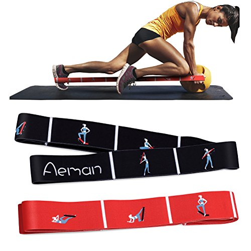 Home Gym... Aeman Elastic Yoga band Exercise Bands for Stretching Training