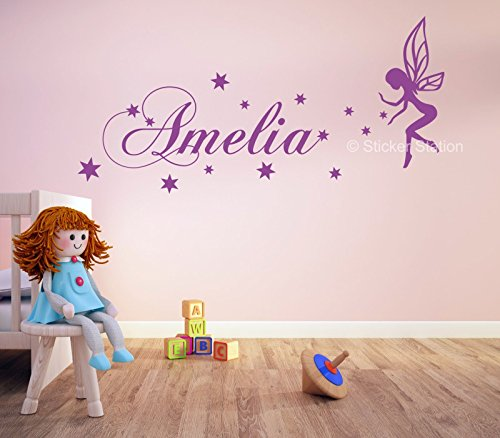 fairy-stars-girls-personalised-any-name-wall-art-mural-decal-sticker