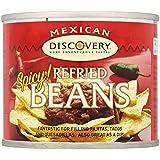 Santa Maria mexicaine haricots frits Spicy (215g) - Paquet de 6