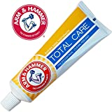 Arm & Hammer Total Care Toothpaste with Baking Soda & Flouride for Cavity Protection, Whitening, Removing Plaque & Tartar and Freshens Breath