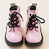 For 0-3 Years old,Bestop Fashion Infant Baby Girls Boys Non-slip Waterproof Sneaker Warm Martin Boots Shoes Fashion Boys Girls Martin Sneaker Winter Thick Snow Baby Casual Shoess (6, Pink)