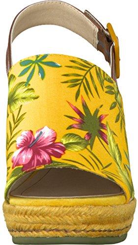 Tamaris 28330 Damen Sandalen mit Keilabsatz Gelb