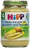 Hipp Weiße Karotte mit Kartoffeln und Pastinaken