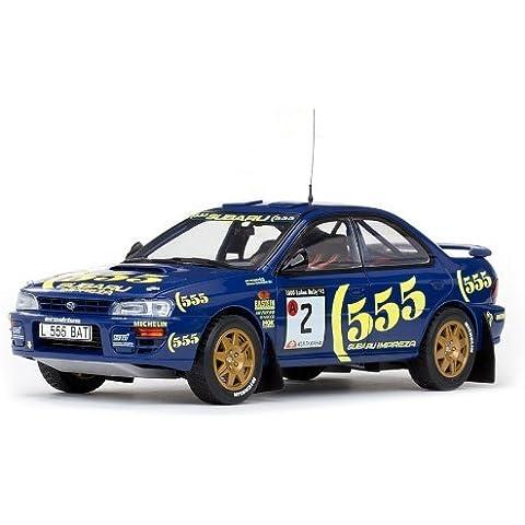 Sun Star Subaru Impreza 1000 Lakes Rally 1993 - A Vatanen/B Berglund 1/18 Scale Die-Cast Model by Sun Star