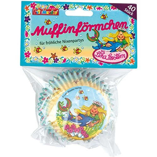 Seestern Supplies Party (Lutz Mauder Lutz mauder11243 Mermaid Sina Seestern Muffin Liners (40))