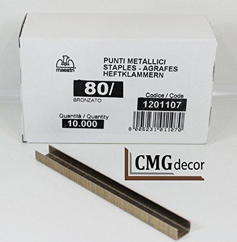 Grapas romeomaestri de tipo 80 / mm de largo