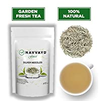 Navvayd Silver Needles White Tea, Excusite Royal Silver Needles, 100 gm (40 Cups)