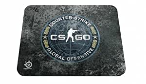 Steelseries QCK Counter Strike Globale Offensive Tapis de Souris Noir