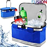 25 LITRES EXTRA LARGE COOLER COOL BAG BOX PICNIC CAMPING FOOD BAG WITH HANDLE FUSION(TM)
