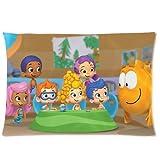 Akhy Bubble Guppies Pillowcase Standard Size 20 * 30 inches PWC1017