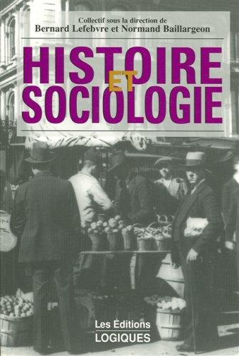 Histoire et sociologie par Lefebvre