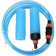 Limpiador de Tanque de Peces Sifón Filtro de Limpiador de Lavado Para Acuario Semiautomático de Agua Para Acuario de Pecera(L)