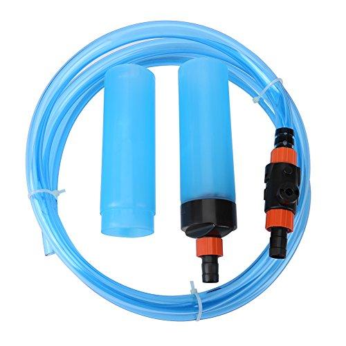 Hochdruckreiniger von Fisch Tank Aquarium Schlauch Saugen Vakuum Siphon halbautomatisch Wechsler Wasser Filter zu waschen für Fish Tank, L