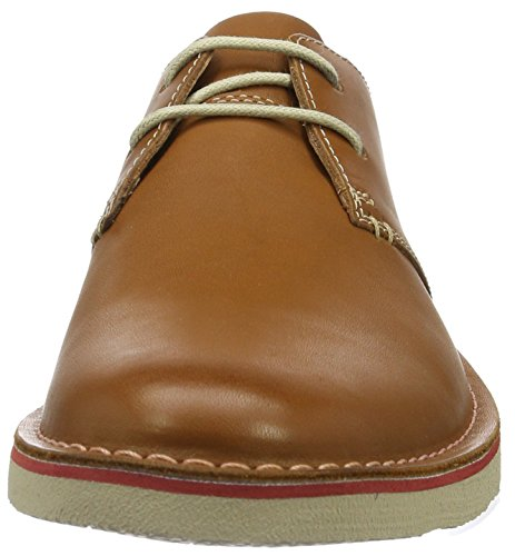 Clarks Originals Herren Jareth Walk Derby Braun (Tan Leather)