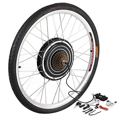 YESPER 26 Zoll 500W 36V Hinterrad Umbausatz Elektrofahrrad Nachrüstsatz E-Bike Conversion Kit Nabe mit