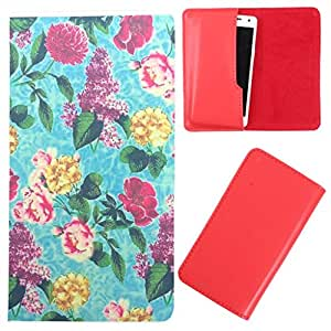 DooDa - For Micromax Bolt Q332 PU Leather Designer Fashionable Fancy Case Cover Pouch With Smooth Inner Velvet