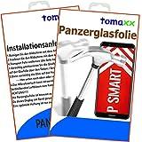 tomaxx Panzerglas Huawei P Smart - Panzerfolie Glasfolie Displayschutz brillante 9H Qualität