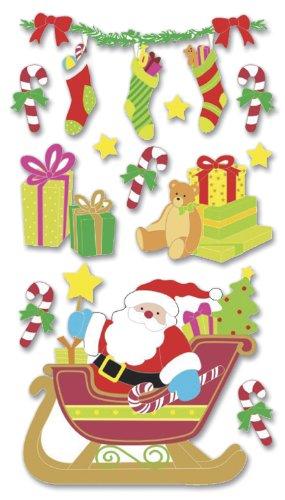 Boutique Le Grande vignetta dimensionale-Santa Sleigh di