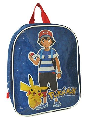 Pokemon-Mochila-infantil-nios-azul-azul