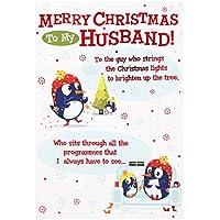 Hallmark Christmas Card To Husband 'The Guy Who…' - Medium