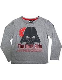 Star Wars Kollektion 2016 Langarmshirt 104 110 116 122 128 134 140 146 Shirt Jungen Neu Pullover Ökotex 100 Darth Vader Grau