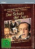 Sherlock Holmes: Der Schatz der Agra / Der komplette Zweiteiler der Romanverfilmungen DAS ZEICHEN DER VIER und EIN SKANDAL IN BÖHMEN (Pidax Serien-Klassiker) [2 DVDs]