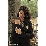 Abrigo polar Mom&Dad de Momawo, Black Talla XXL