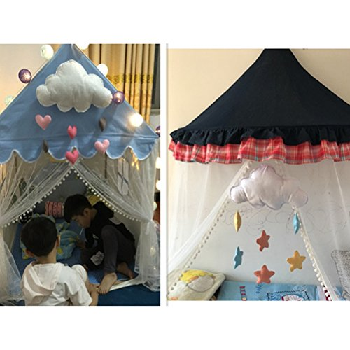 LUOEM Kinderzimmer Dekoration Wolken Regentropfen Hängende Deko Babyparty - 3