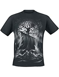 Toxic Angel Naglfar T-Shirt schwarz