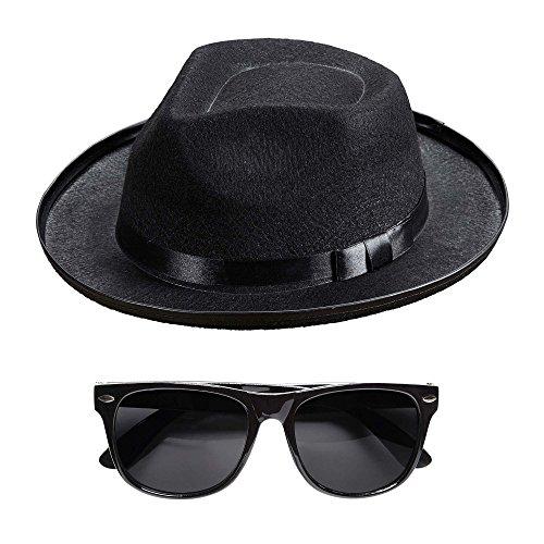 Preisvergleich Produktbild Widmann - Blue Man Hut und Brille