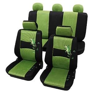 eco class gecko gr n 11 teilig sitzbezug schonbez ge. Black Bedroom Furniture Sets. Home Design Ideas
