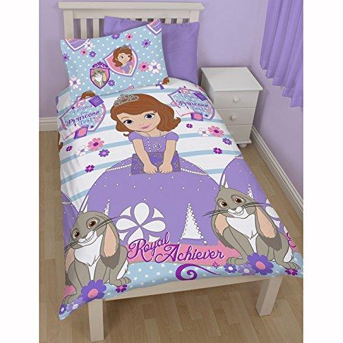Disney Sofia - Copripiumino per letto singolo della Principessa Sofia