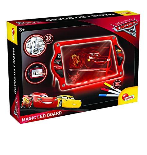 Lisciani giochi 62454-cars 3 lavagnona magica led fluo, 62454
