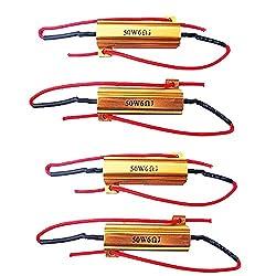E SupportTM 4 X KFZ Auto 50W 6 Ohm Lastwiderstand Widerstand für LED SMD Blinker