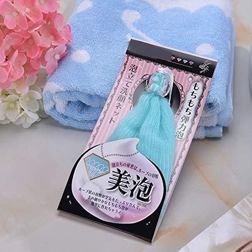 Tragbare Travel Beauty-Werkzeuge Soap Pouch Foam Net Soap Tasche schäumenden Beutel Bubble Mesh Gesicht Mesh Bubble Maker Gesichtsreinigung Werkzeuge (Net Soap-tasche)