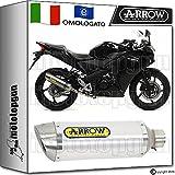 Arrow Auspuff Hom Thunder Aluminium Honda CBR 125-r 20141420151520161651506AO