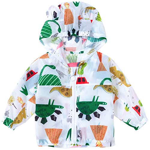 Bebé Chaquetas de protección solar Abrigo de Verano Chaqueta con Capucha Protección...