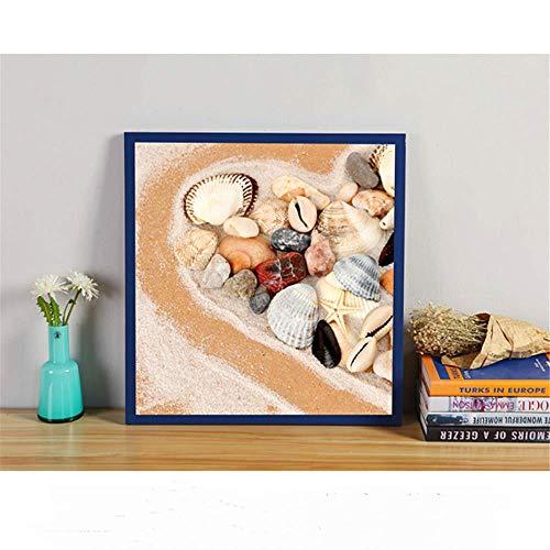 SONGHJ Platz massivholz bilderrahmen malerei Desktop Dekoration Hochzeit fotostudio Kinder Fotografie kreative bilderrahmen blau 6 Zoll / 15,2x15,2 cm
