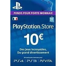 Carte Playstation Network 10 EUR | Code Jeu PSN - Compte français