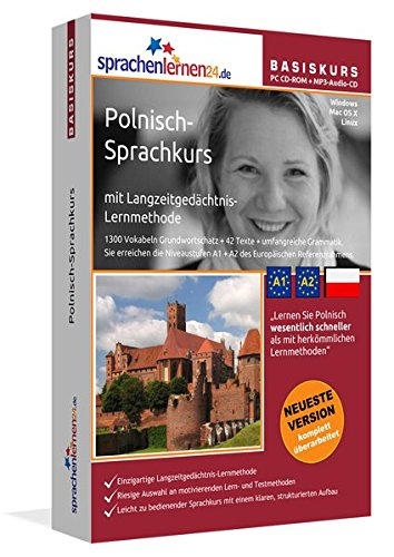 Sprachenlernen24.de Polnisch-Basis-Sprachkurs: PC CD-ROM für Windows/Linux/Mac OS X + MP3-Audio-CD...