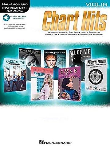 Instrumental Play-Along Chart Hits: Violin (Hal Leonard Instrumental