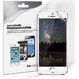 6x kwmobile Folie für Apple iPhone SE / 5 / 5S - klare Displayschutzfolie Crystal Clear Displayschutz Displayfolie Schutzfolie