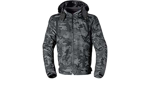 B/üse Downtown Motorrad Textiljacke Camouflage 4XL