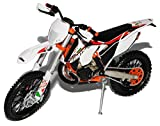 alles-meine.de GmbH K-T-M 300 EXC Six Days Sardinien Weiss 2014 Enduro 1/12 K-T-M Modell Motorrad Modell Auto