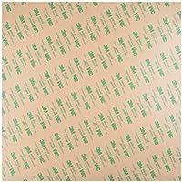 """YOTINO 12""""x12""""/300x300 mm hojas de PEI adhesivas para impresión 3D con cinta adhesiva 3M 468 MP - 0.8mm de espesor"""
